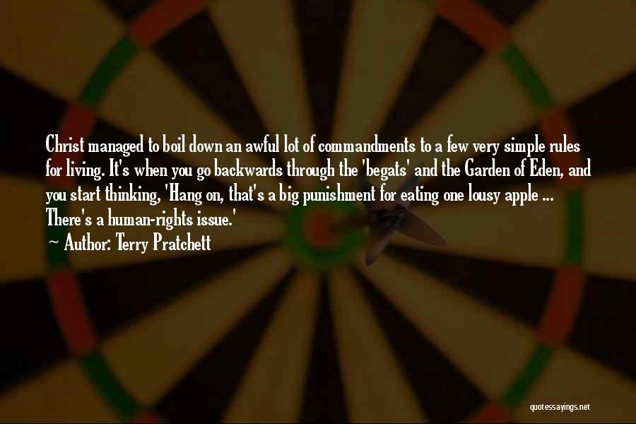 Simple Thinking Of You Quotes By Terry Pratchett