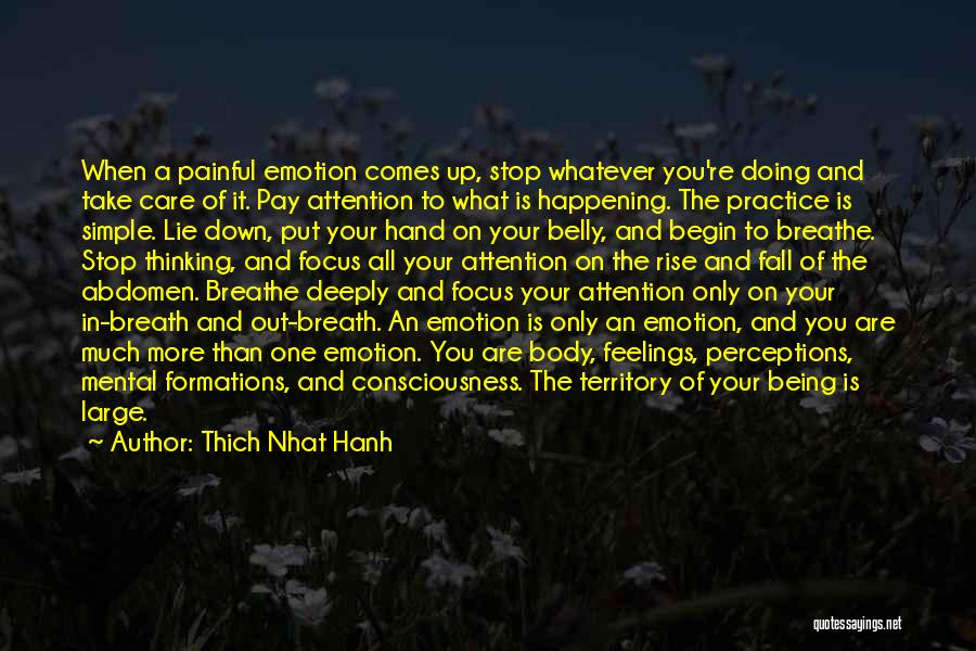 Simple Thinking Of You Quotes By Thich Nhat Hanh