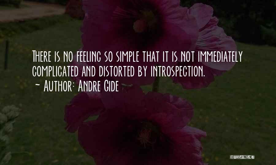 Simple Yet Complicated Quotes By Andre Gide