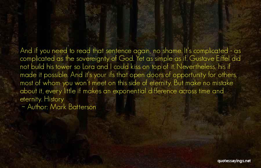 Simple Yet Complicated Quotes By Mark Batterson