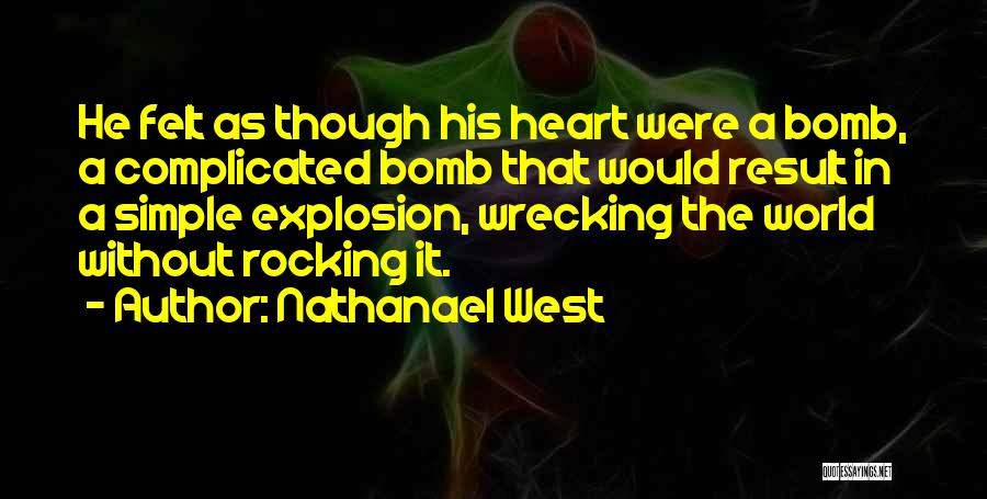 Simple Yet Complicated Quotes By Nathanael West