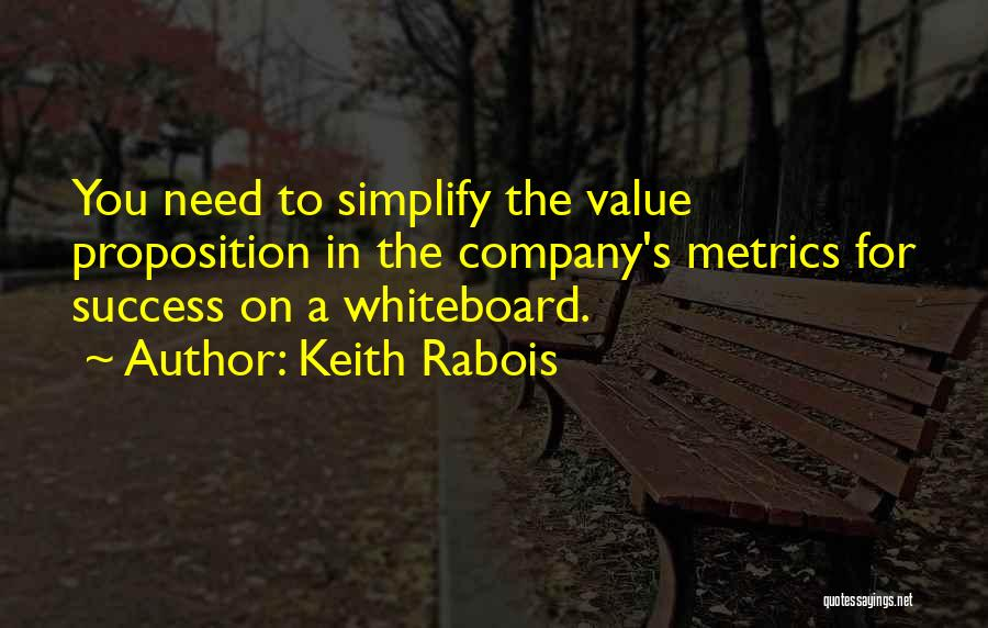 Simplify Success Quotes By Keith Rabois