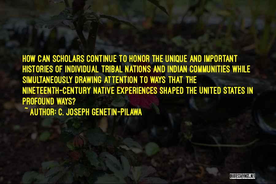 Simultaneously Quotes By C. Joseph Genetin-Pilawa
