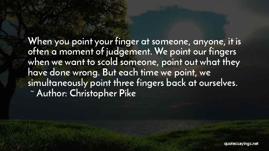 Simultaneously Quotes By Christopher Pike