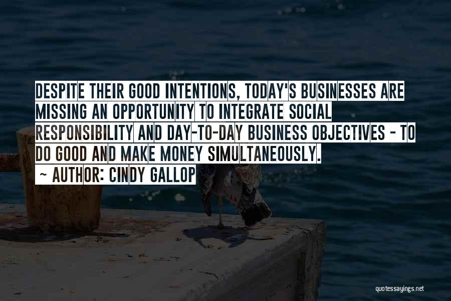 Simultaneously Quotes By Cindy Gallop