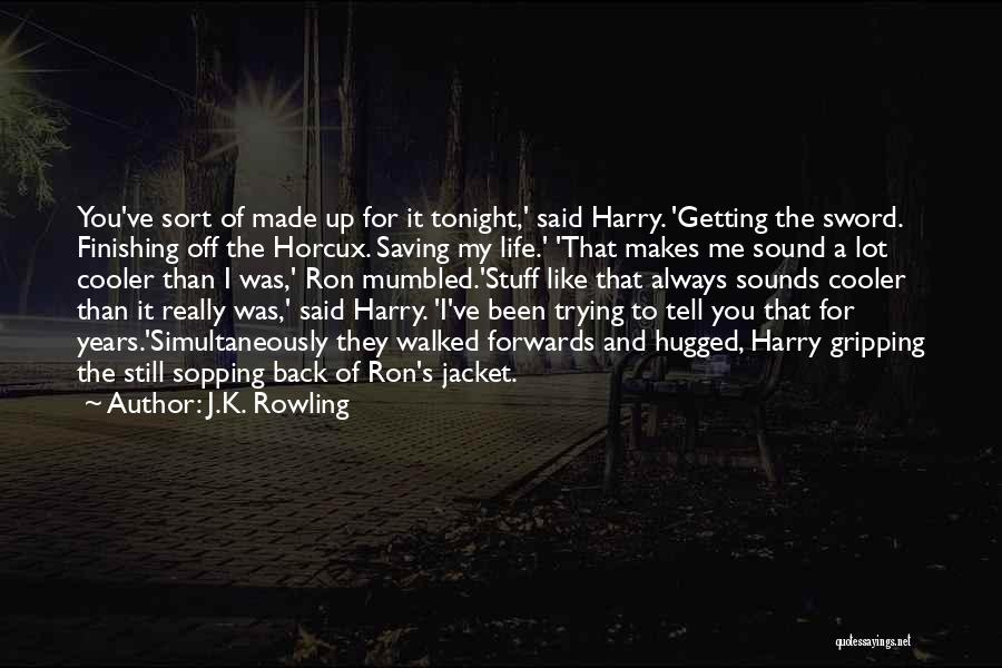 Simultaneously Quotes By J.K. Rowling