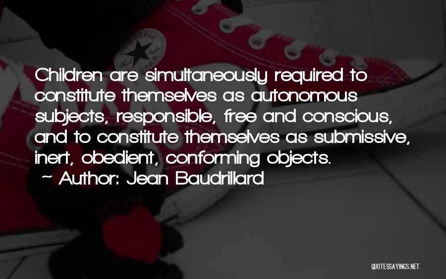 Simultaneously Quotes By Jean Baudrillard