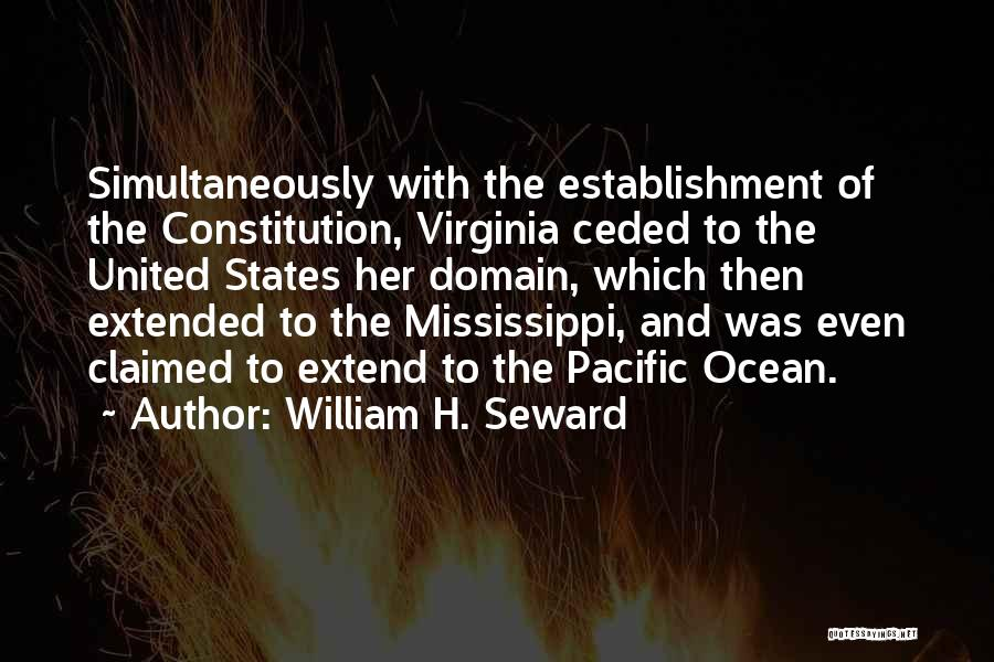 Simultaneously Quotes By William H. Seward