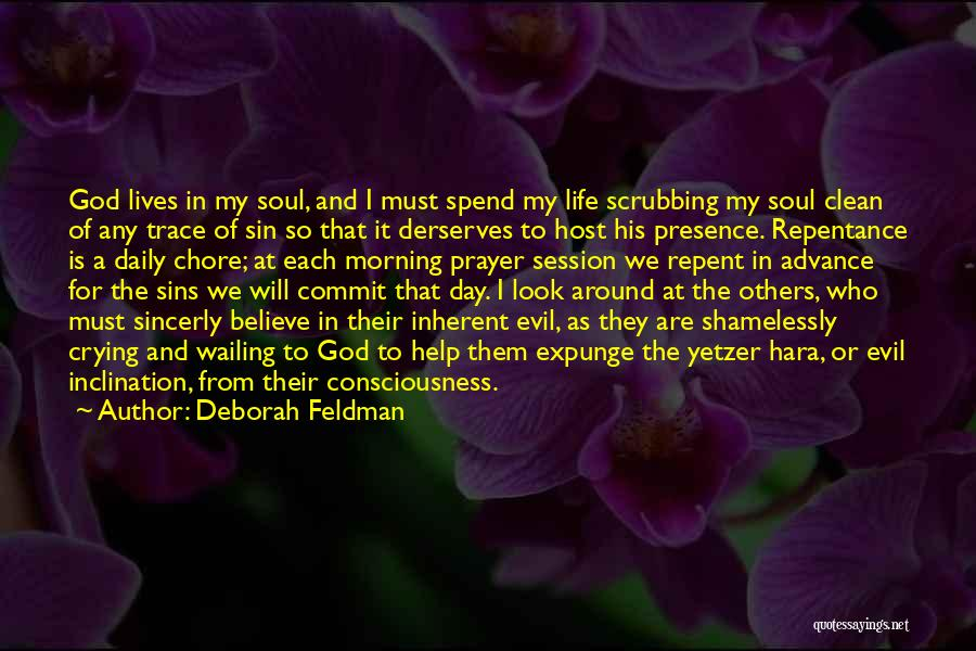 Sin And Repentance Quotes By Deborah Feldman
