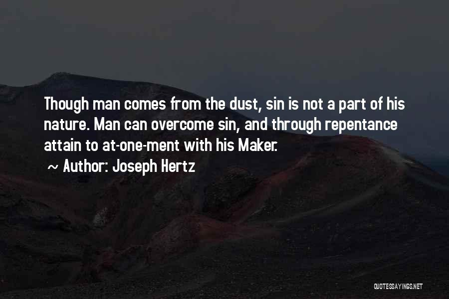 Sin And Repentance Quotes By Joseph Hertz