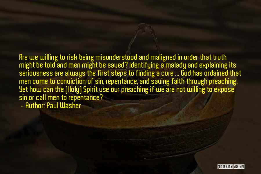 Sin And Repentance Quotes By Paul Washer