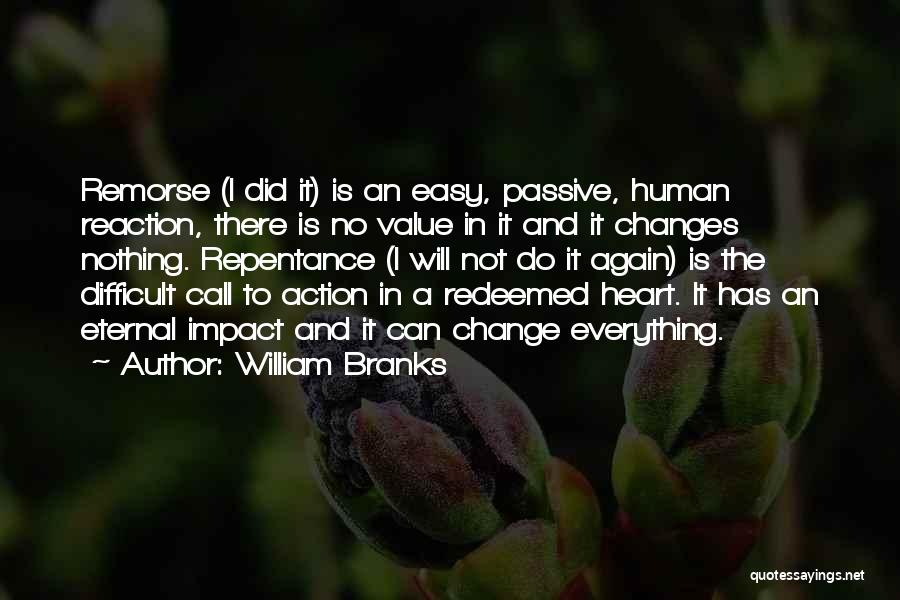 Sin And Repentance Quotes By William Branks
