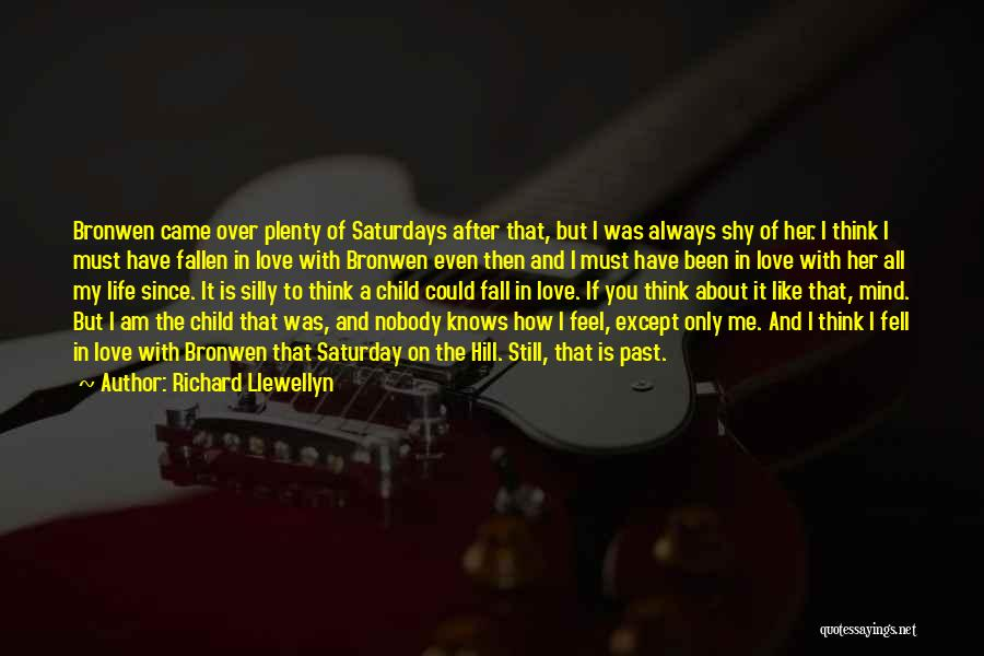Since You Came In My Life Quotes By Richard Llewellyn