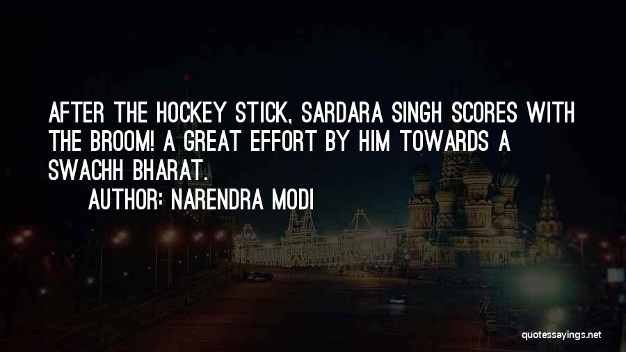Singh Quotes By Narendra Modi
