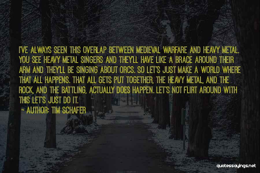 Singing By Singers Quotes By Tim Schafer