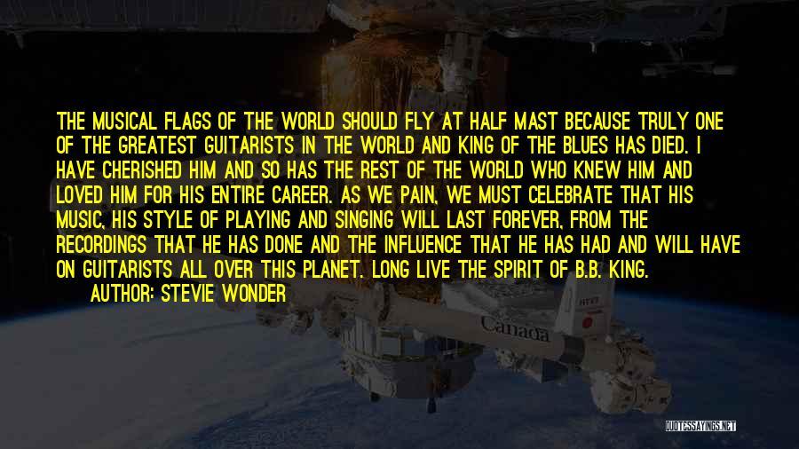 Singing Career Quotes By Stevie Wonder
