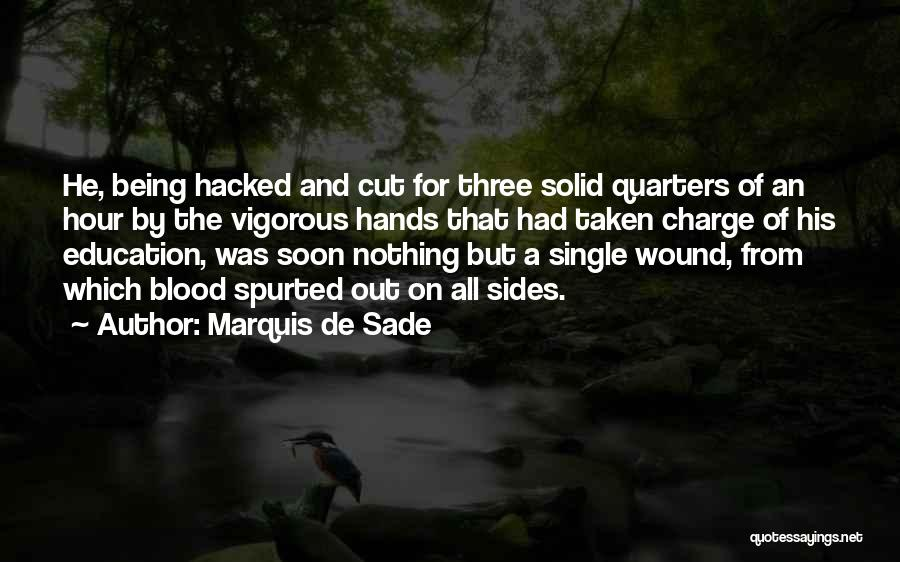 Single And Taken Quotes By Marquis De Sade