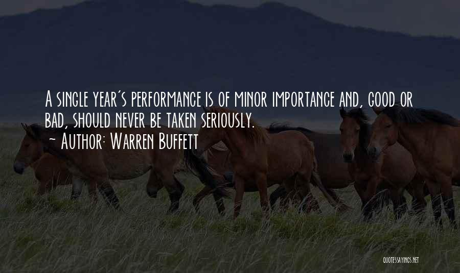 Single And Taken Quotes By Warren Buffett