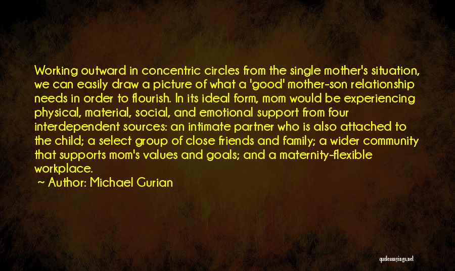 Single Mom And Son Quotes By Michael Gurian