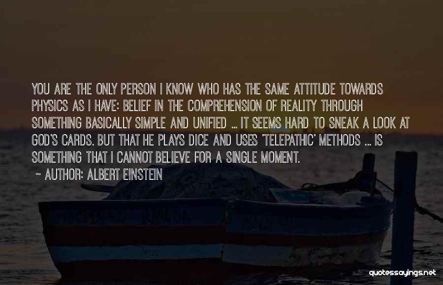 Single Mom Quotes By Albert Einstein