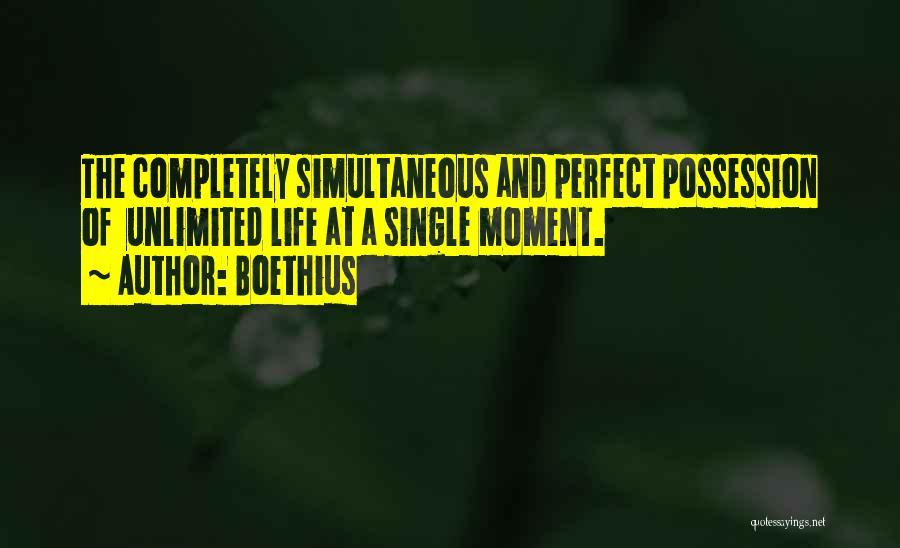 Single Mom Quotes By Boethius