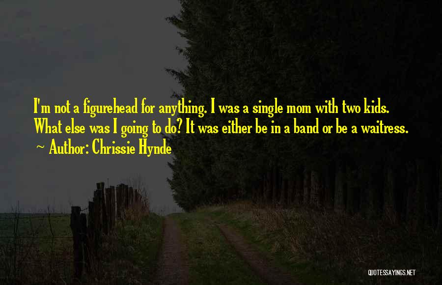 Single Mom Quotes By Chrissie Hynde