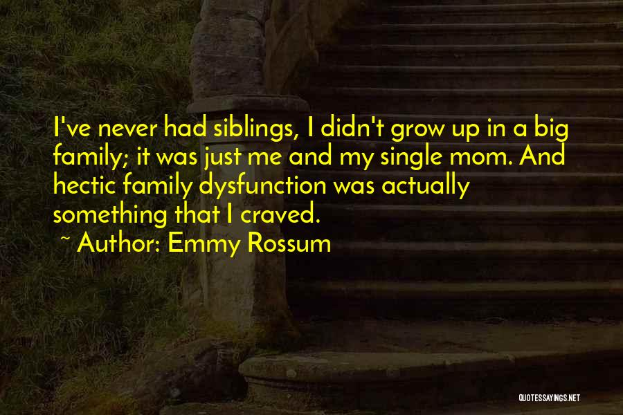 Single Mom Quotes By Emmy Rossum