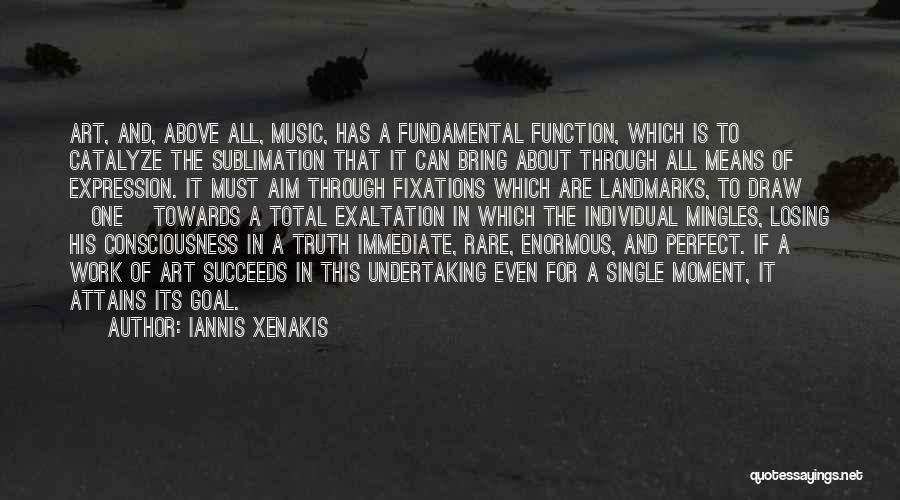 Single Mom Quotes By Iannis Xenakis