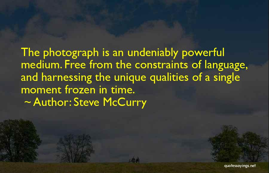 Single Mom Quotes By Steve McCurry