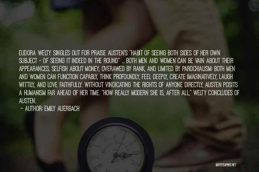 Singles Quotes By Emily Auerbach
