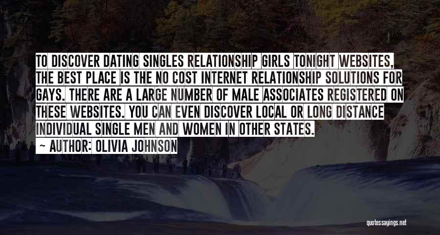Singles Quotes By Olivia Johnson