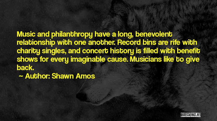 Singles Quotes By Shawn Amos