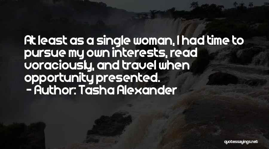 Singles Quotes By Tasha Alexander