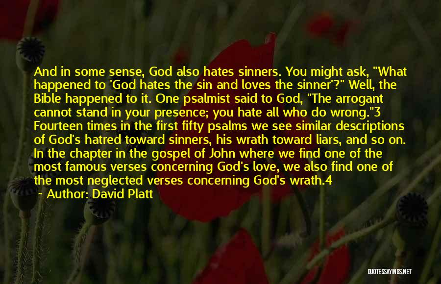 Sinners In The Bible Quotes By David Platt