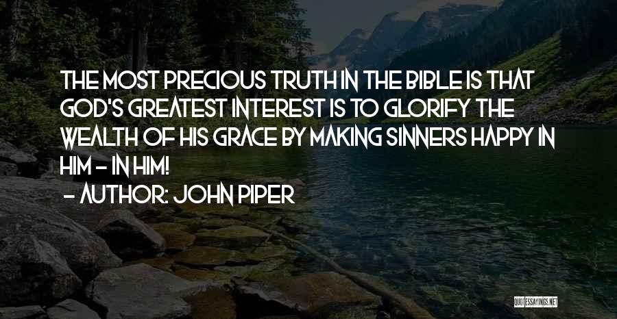 Sinners In The Bible Quotes By John Piper