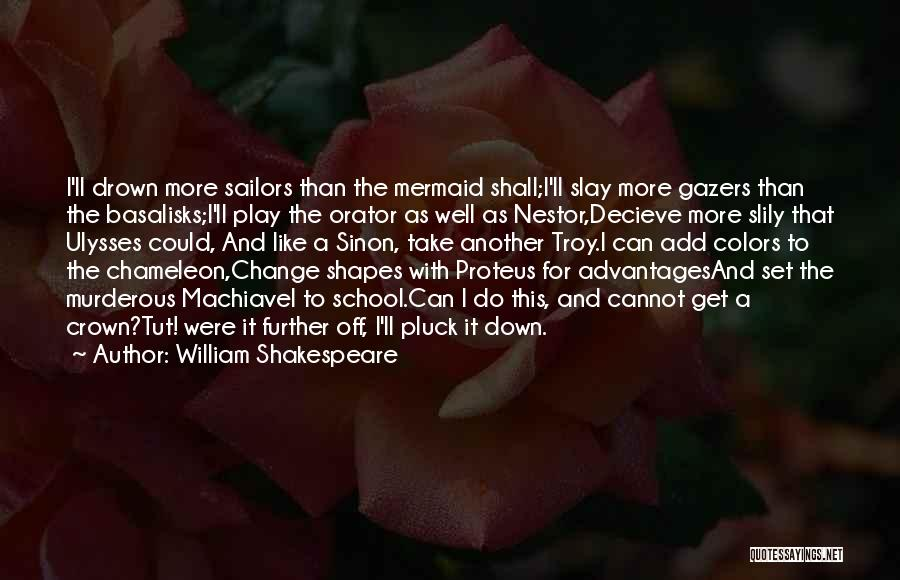 Sinon Quotes By William Shakespeare