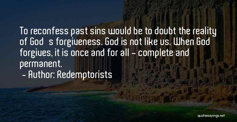 Sins Of The Past Quotes By Redemptorists