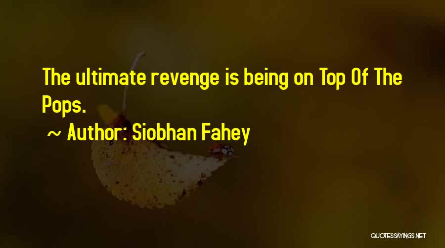 Siobhan Fahey Quotes 2064286