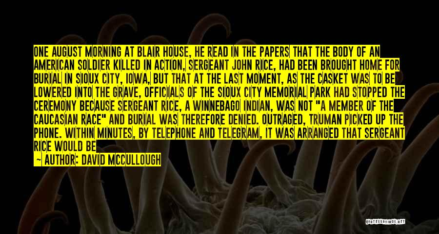 Sioux Quotes By David McCullough
