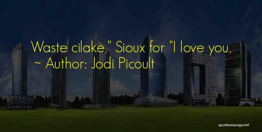 Sioux Quotes By Jodi Picoult