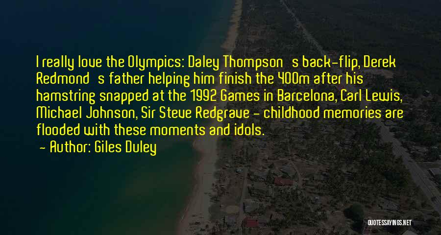 Sir Steve Redgrave Quotes By Giles Duley