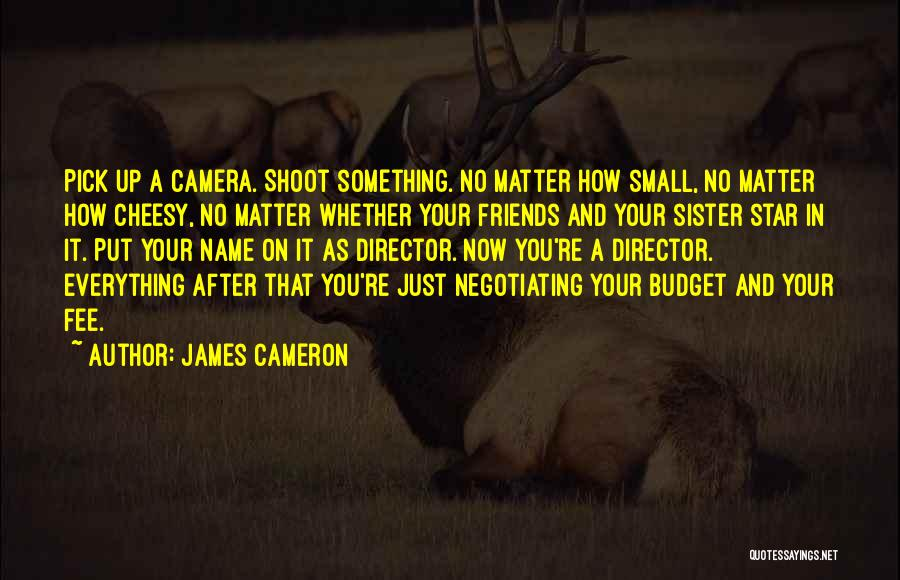 Sister Friends Quotes By James Cameron