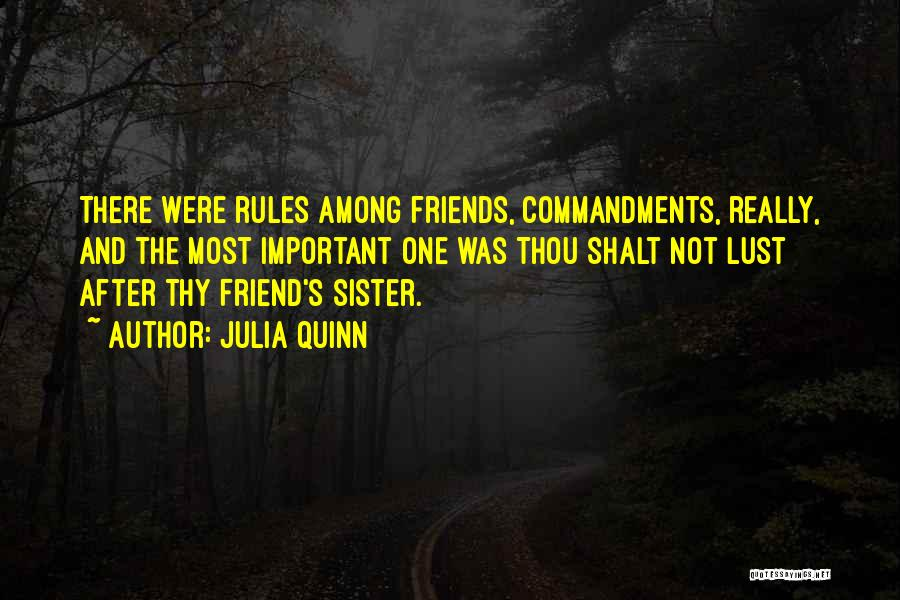 Sister Friends Quotes By Julia Quinn