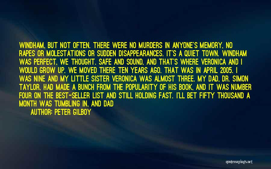 Sister In Memory Of Quotes By Peter Gilboy