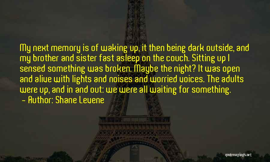 Sister In Memory Of Quotes By Shane Levene