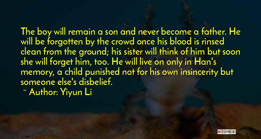Sister In Memory Of Quotes By Yiyun Li