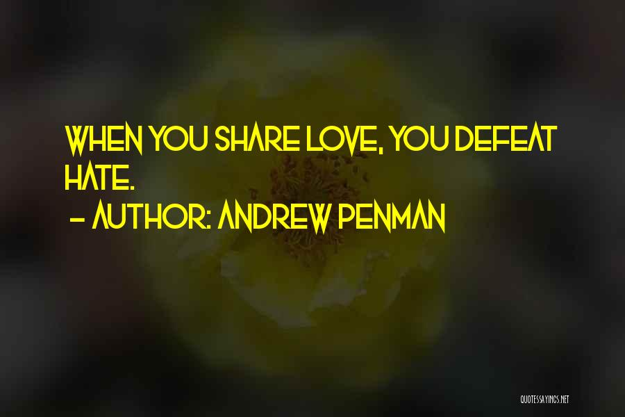 Sisterhood Quotes By Andrew Penman