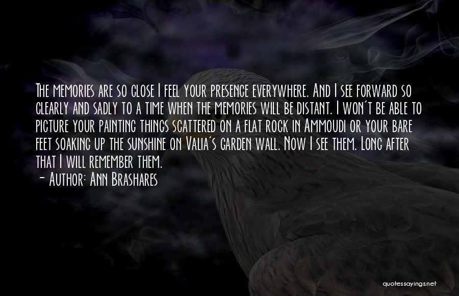 Sisterhood Quotes By Ann Brashares