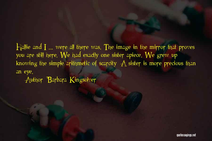 Sisterhood Quotes By Barbara Kingsolver