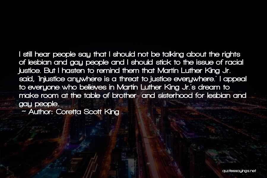 Sisterhood Quotes By Coretta Scott King
